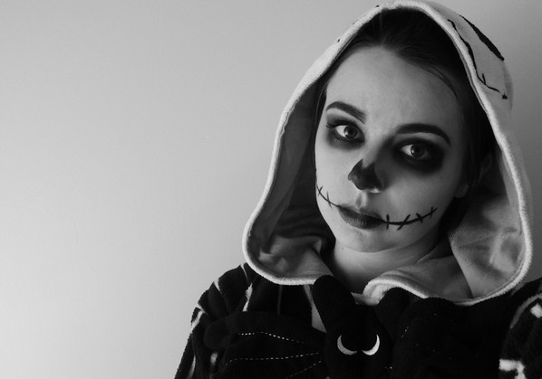 ☠ Cute Skelleton Makeup