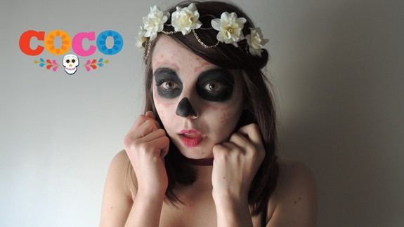 ☠  Mexican SkullMakeup