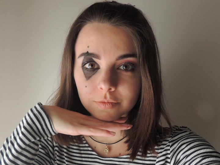 Just dance // Circus inspired makeup