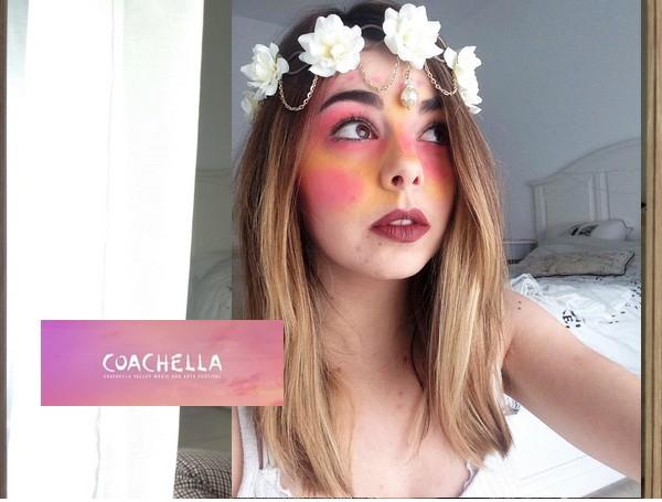 Maquillage de festival // InspirationCoachella